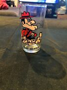 Vintage 1970's Pepsi Dudley Do Right Promotional Collectors Glass