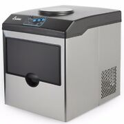 5 Gallon Water Dispenser With Built-in Ice Maker Machine Countertop Ice Maker