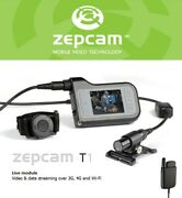 Camera Recorder Zepcam T1live Modulevideo And Data Streaming Over 3g, 4g And Wi-fi