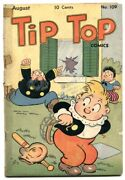 Tip Top Comics 109 1945- Captain And The Kids- G