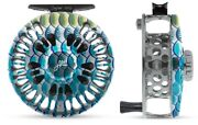 Abel Super 11/12 Fly Reel In Tarpon Color W/ Matching Knob And Ebony Handle
