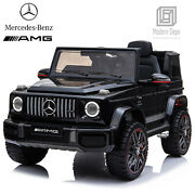 Licensed Mercedes Benz Amg G63 Ride On Car With Remote Control For Kids