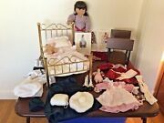 1990 Samantha Parkington American Girl Doll W/ Accessories Extremely Rare