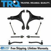 Trq Steering And Suspension Kit Control Arms Ball Joints Sway Links Tie Rod Kit