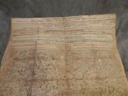 5 Maps Circa 1787-1789 Carte Topographique Dand039allemagne Germany Topographical