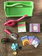 American Girl Doll Just Like You Garden Tote + Tools Retired 2008-2010