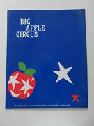 Big Apple Circus Press Release Folder Signed By Clown Gordoon 2001