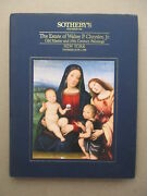 Sotheby's Catalog Old Master 19th C Paintings Walter Chrysler Estate 1989 H/c