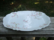 C.h. Field Haviland Limoges Cfh Gdm 11 1/4 Serving Plate Dish Floral China Ware