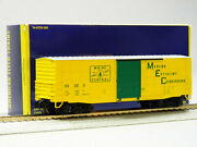 Lionel American Flyer Maine Central S Gauge Waffle Boxcar Mc 29225 6-44085 New