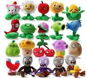 Cute Soft Plush Toy Gift Plants Vs Zombies Plush In Zombie Game Lots