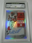2018 Panini Contenders Optic Nick Chubb Rookie Ticket Rps Autograph Rc Mint 9