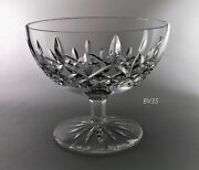 Waterford Crystal Lismore Footed Open Candy Dish - 5 1/4- Signed--perfect
