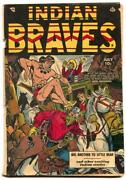 Indian Braves 3 1951- Ace Western- Canadian Edition G/vg
