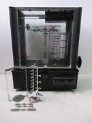 Vintage Voland And Sons Model 750-d Laboratory Analytical Balance Scale Black
