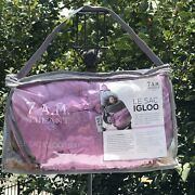 7 Am Enfant Le Sac Igloo Paris 500 Stoller Car Seat Cover Pink Small 0 - 6 Month