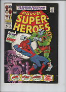 Marvel Super Heroes 14 F/vf To Vf-