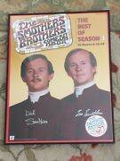 The Smothers Brothers Autographed Poster By Both Dick And Tom Smothers Framed