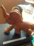 Vintage Rempel Rubber Elephant Doesnand039t Squeak Toy B1