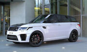 22 Hawke Arion Black Alloy Wheels And Tyres For Range Rover