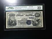 National Bank Note Valley City North Dakota 1 Of 4 Date Backs Known Only 7 Large