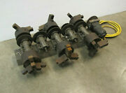 Multi Station Rotary Fixture With 6 Chucks For Electron Beam Welder Motorized