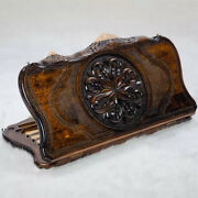 Vintage Handmade Wooden Backgammon Set Ornament With Mountain Ararat Handcrafted