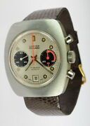 Rare Lucien Piccard 17 Jewels Chronograph Wrist Watch