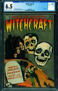 Witchcraft 6 Cgc 6.5-last Issue-skull Cover-pre-code Horror 1282804017