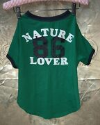 Nwt Victorias Secret Pink Rare How Pink Is Your Pup Nature Lover Dog T-shirt L