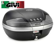 Suitcase Lt. 46 Full Of Cover Black Embossed And Reflectors Tinted V46 Givi