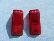 1946 1947 1948 Desoto Right And Left Tail Lights