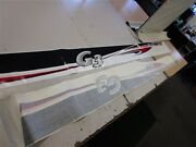 G3 Main Graphic Decal Pair 2 Red / White / Black / Gray 118 1/2 X 10 Boat