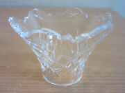 Waterford Crystal Bobeche Candle Cup From Avoca 6 Arm Chandelier Replacement 3w