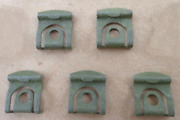 5 Vintage Nos Rear Window Molding Clips 1965-70 Ford/mercury Mustang Cougar Etc