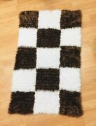 Hand Made Rug 236 X 39.4 Inch Chess Bedside Rug New Unic Part Of Decor