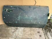 Triumph Spitfire Right Door Shell No Latch Late Style From A Florida Car Green