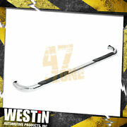 For 2004-2013 Gmc Sierra 1500 Signature 3 In. Round Step Bar Cab Length