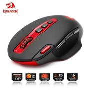 Redragon Usb Wireless Gaming Mouse 7200dpi 10 Buttons Ergonomic For 2.4g