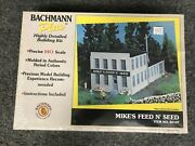 Bachmann Plus Ho Scale Mikeand039s Feed And039n Seed Highly Detailed Building Kit 35107
