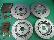 Mercedes Benz S63 S65 Amg Front Rear Brake Pads And Rotors 2014 15 16 17