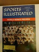 Sports Illustrated September 28, 1959 Chicago White Sox W/ Label