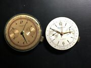 2 Chronograph Watch Movements 1 With Rust Suisse And Gigandet