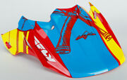 Fly Snow Hmk F2 Replacement Visor Red/blue/yellow 73-48401