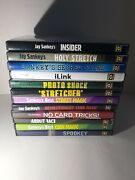 Jay Stankeys Lot Of 12 Magic Dvdand039s Diy Learn The Art Of Magic With These Videos