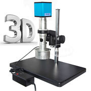 3d C-mount 10x-180x Lens Hdmi 60fps Sony Imx290 Industry Microscope Camera Set