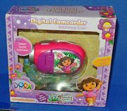 2010 Dora The Explorer Digital Camcorder With 1.5 Preview Screen Unused
