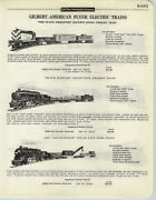 1958 Paper Ad 8 Pg Gilbert American Flyer Electric Train Sets Missouri Pacific