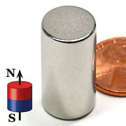 Multi Piece N45 Super Strong Neodymium Disc Magnets Dia 1/2x1 Cylinder