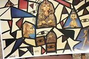 William Verdult Hand Signed Egypt Ancient Egyptian Theme Print